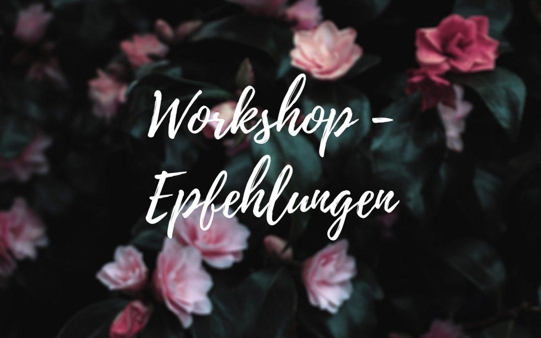 Workshopempfehlungen